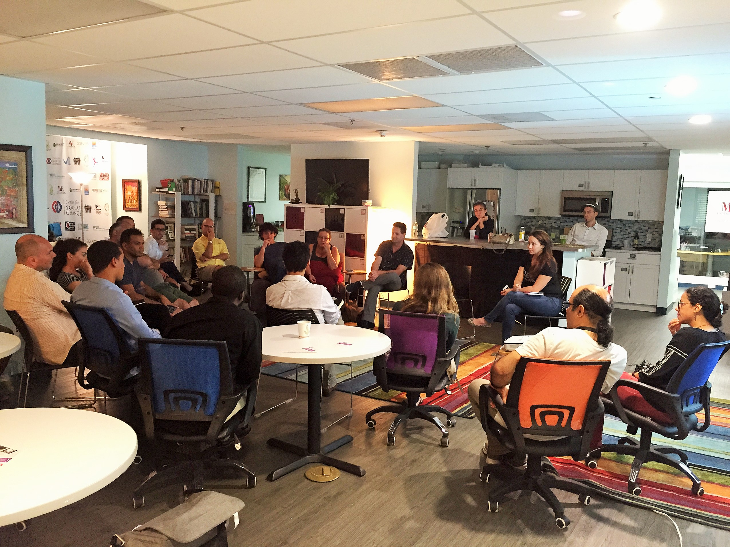Event Space Miami Group Dialogue