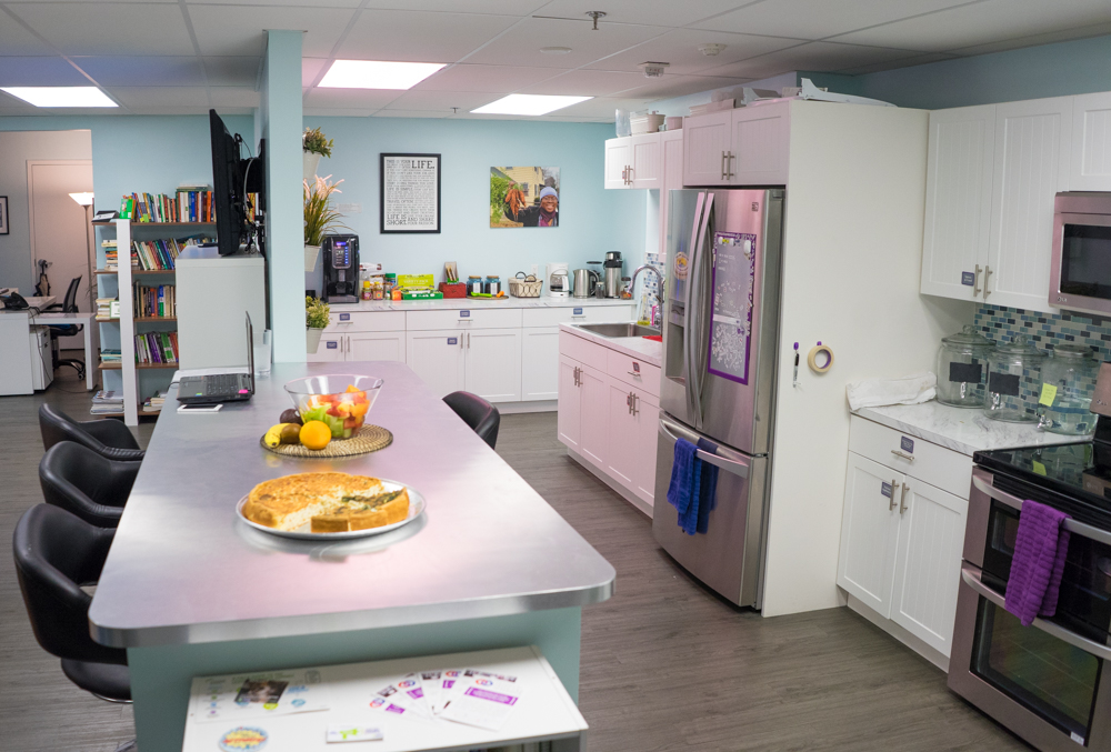 Miami Coworking Space Shared Kitchen