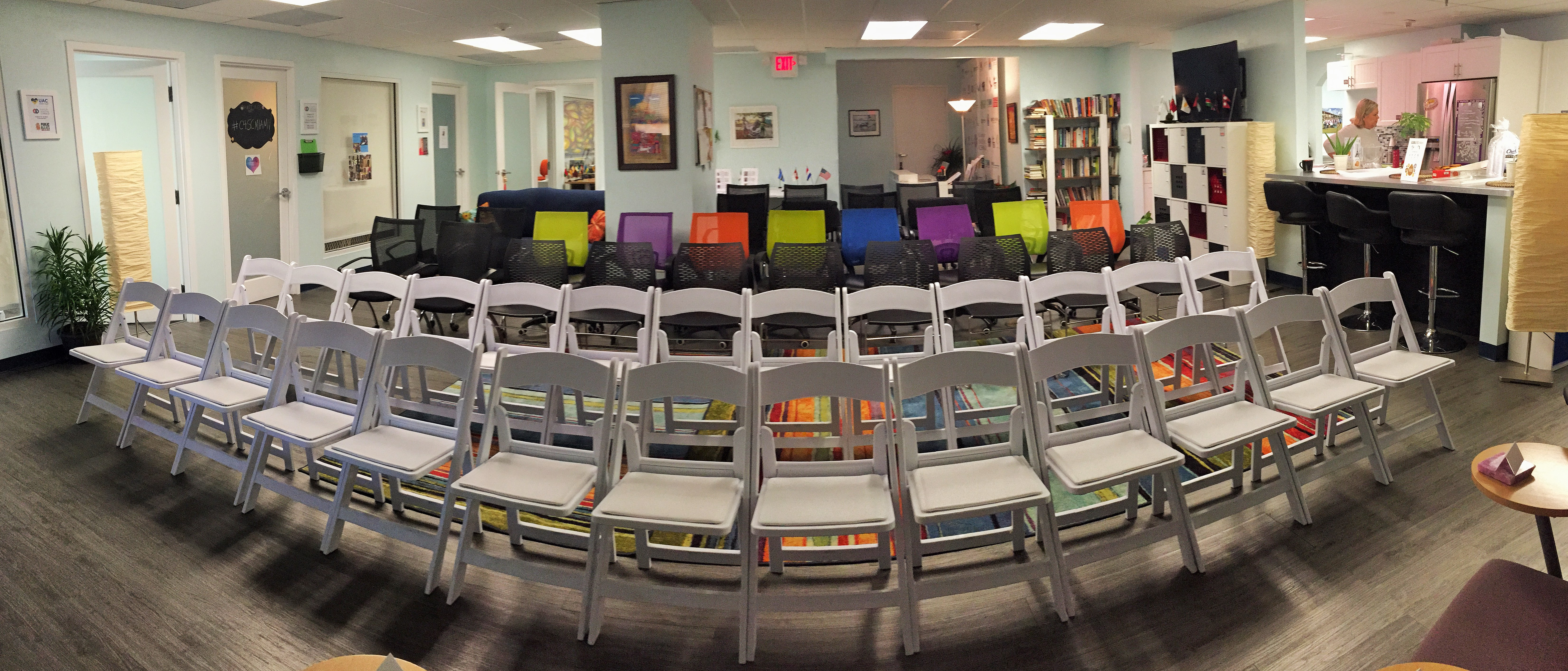 Miami Meeting Space Main Coworking Space Chairs
