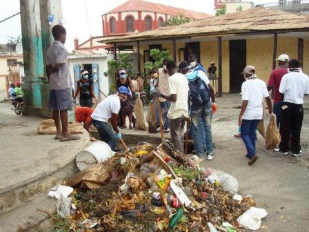 Jeremie Haiti Street Cleanup