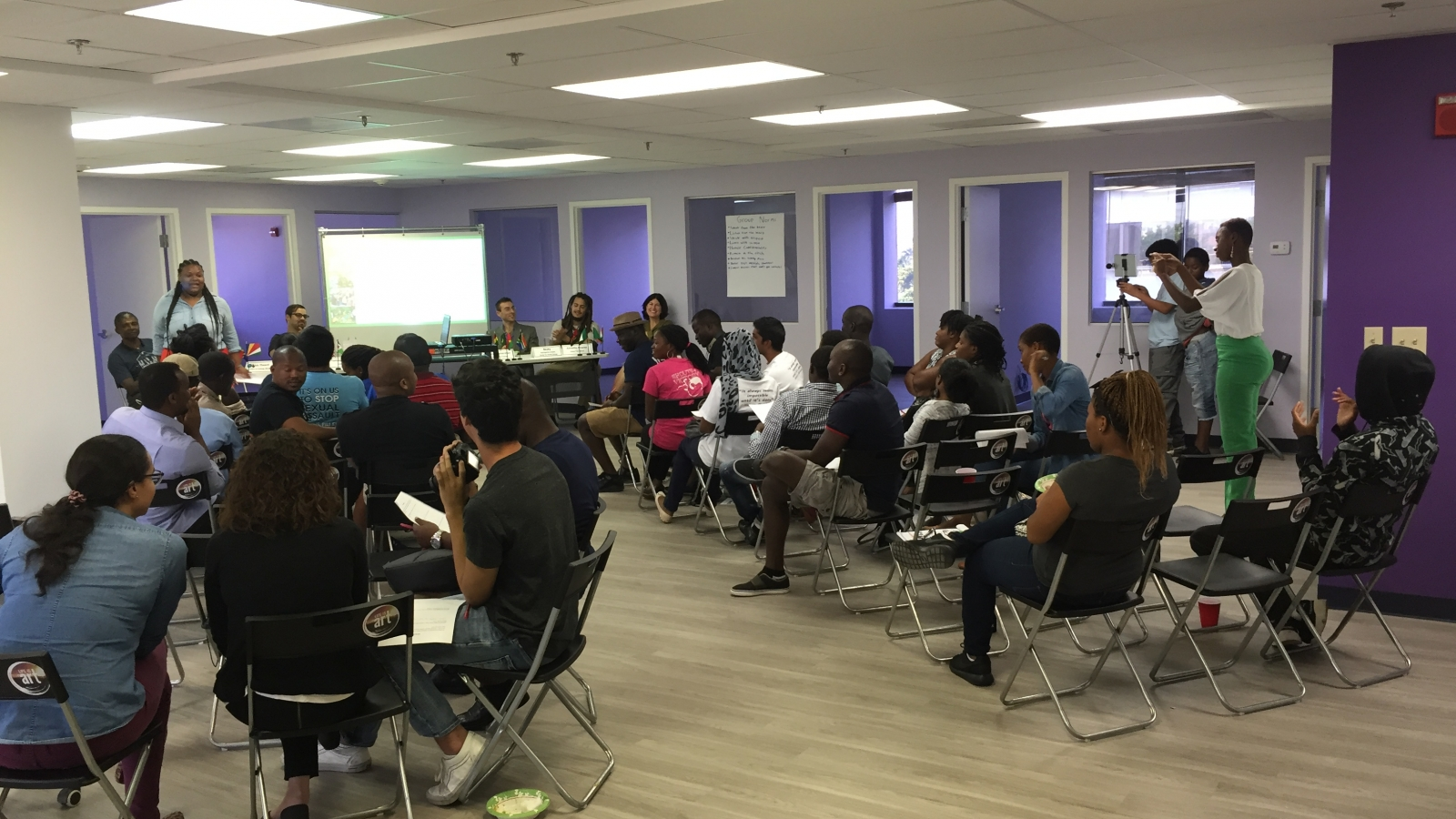 Miami Coworking Space Panel Discussion