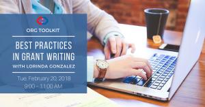 Best Practices in Grant Writing with Lorinda Gonzalez