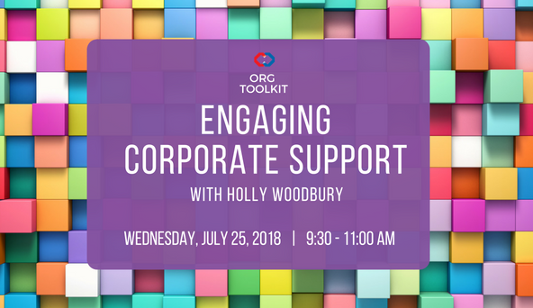 Engaging Corporate Support Header