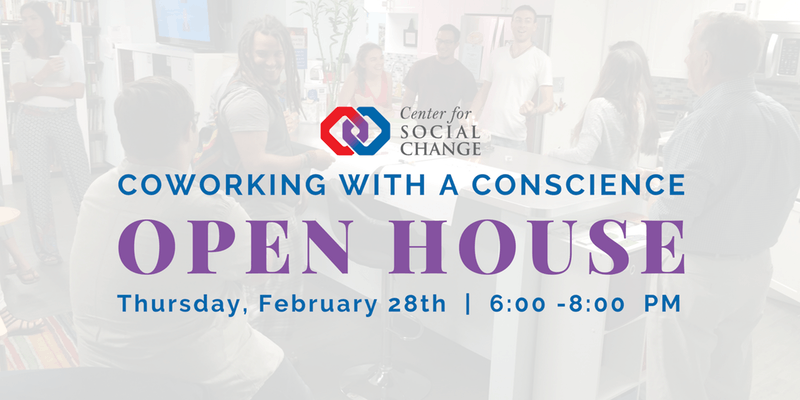 Coworking with a Conscience Open House